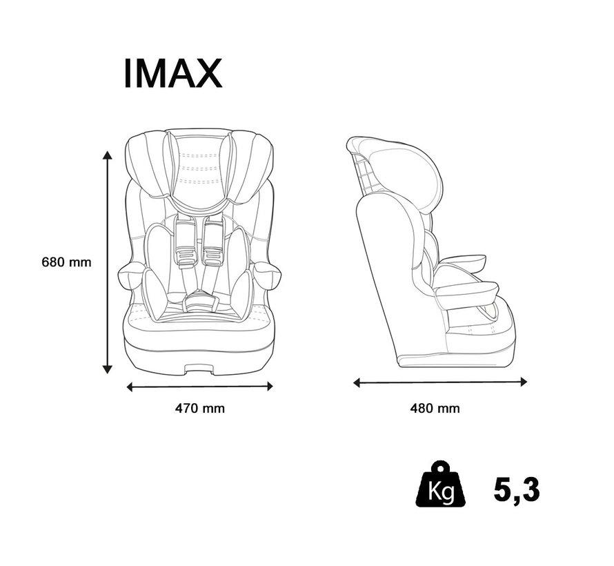 Kinderautositz i-Max Luxe Grey - Gruppe 1/2/3 (9-36 KG)