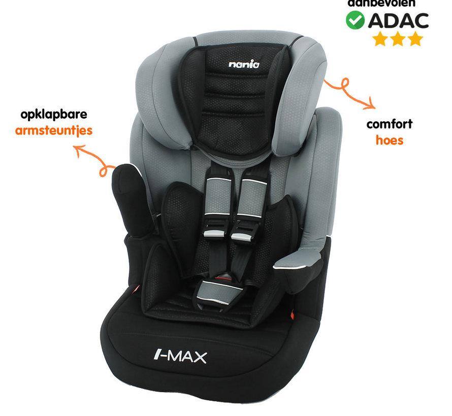 autostoel i-Max - Meegroei Autostoel Groep 1/2/3 - Luxe Grey