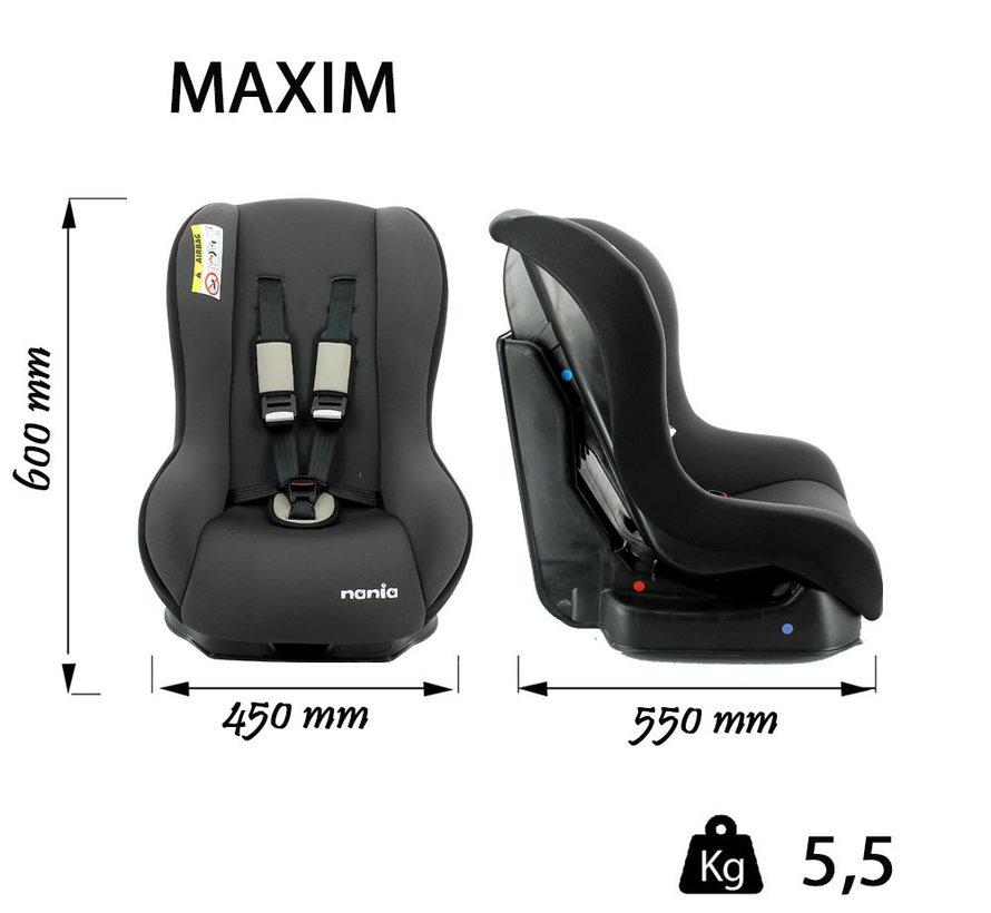 autostoel Maxim - Peuter autostoel groep 0 en 1 - ECO Shadow Grey
