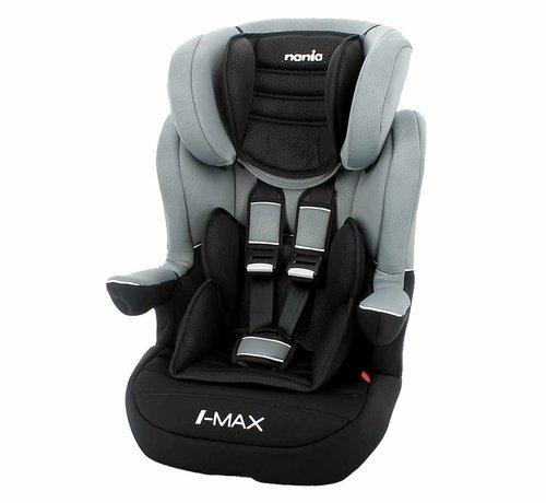 Nania I-Max ISOFIX - Meegroei autostoel groep 1/2/3 - Luxe Grey