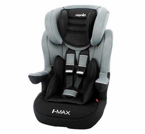 Nania ISOFIX Highback booster I-Max Luxe Grey - Group 1/2/3 (9-36 KG)