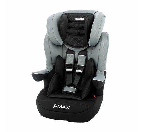 Nania I-Max ISOFIX – Meegroei autostoel groep 1/2/3 – Luxe Grey