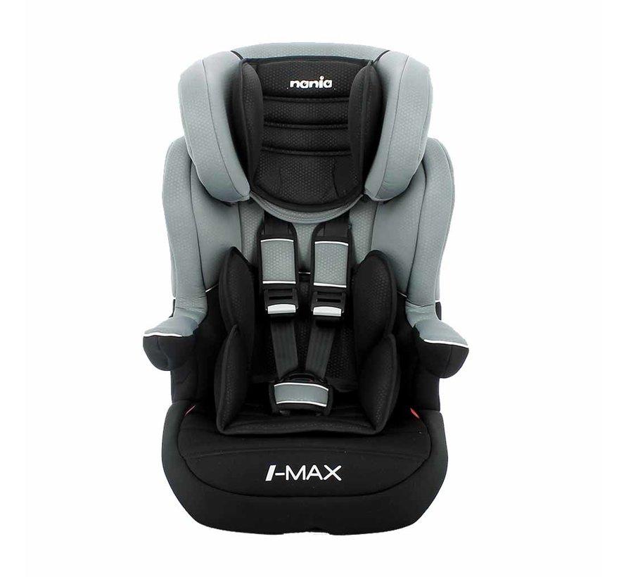 I-Max ISOFIX – Meegroei autostoel groep 1/2/3 – Luxe Grey