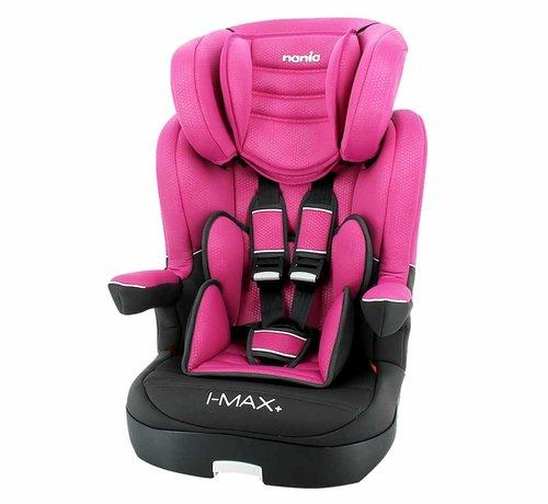 Nania autostoel i-Max - Meegroei Autostoel Groep 1/2/3 - Luxe Pink