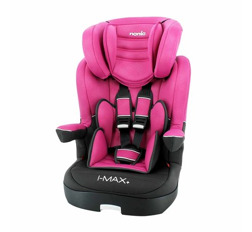 Nania Highback booster i-Max Luxe Pink - Group 1/2/3 (9-36 KG)