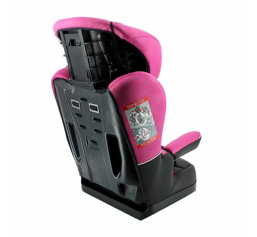 Kinderautositz i-Max Luxe Pink - Gruppe 1/2/3 (9-36 KG)