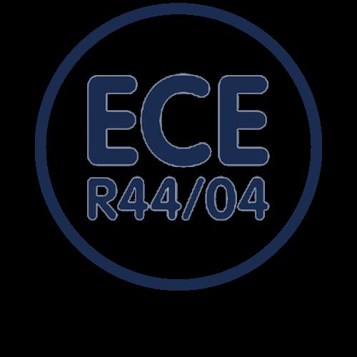 ECE R44/04 Goedgekeurd