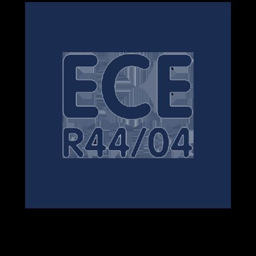 ECE R44/04 getest en goedgekeurd