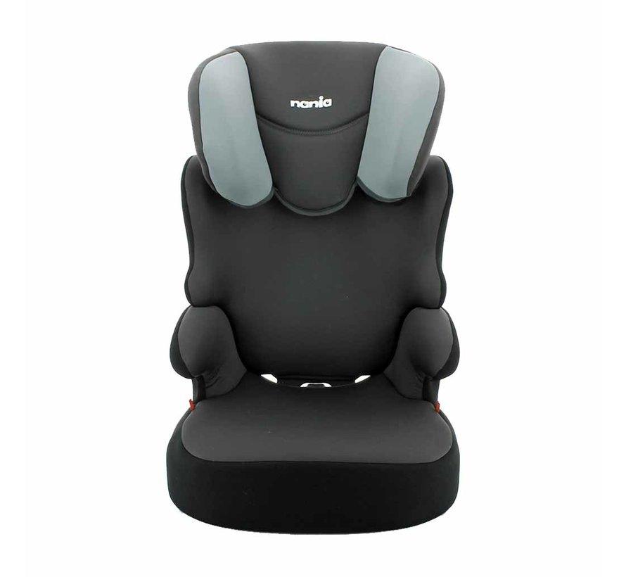 autostoel Befix - Kinderautostoel - groep 2 en 3 - Grijs