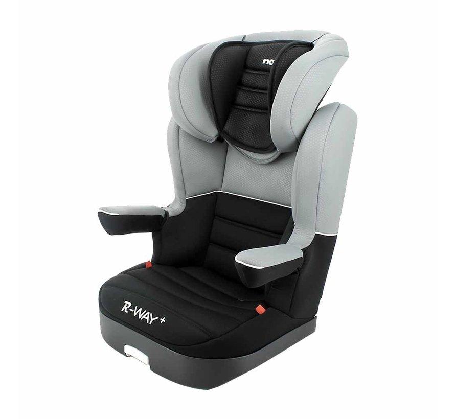 Autositze R-Way - Kindersitze Gruppe 2 und 3 - schwarz, grau