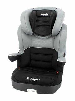 Nania Autostoel R-Way - Groep 2 en 3 - Zwart, Grijs