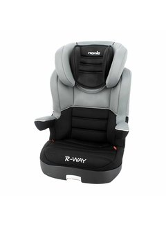 Nania Car seat R-Way - Highbackbooster Group 2 and 3 - Black, Grey