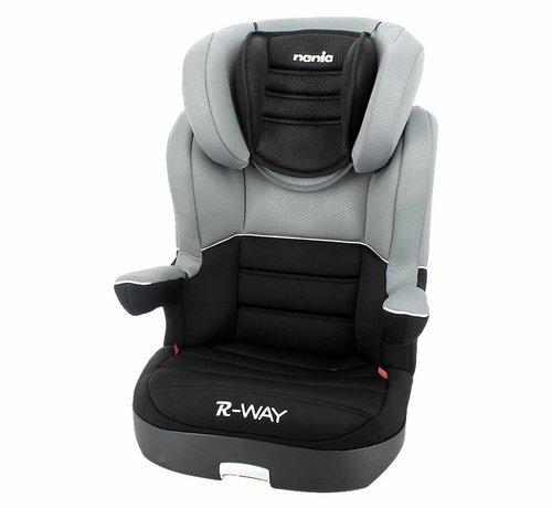 Nania Car seat R-Way - Highbackbooster Group 2 and 3 - Black, Grey