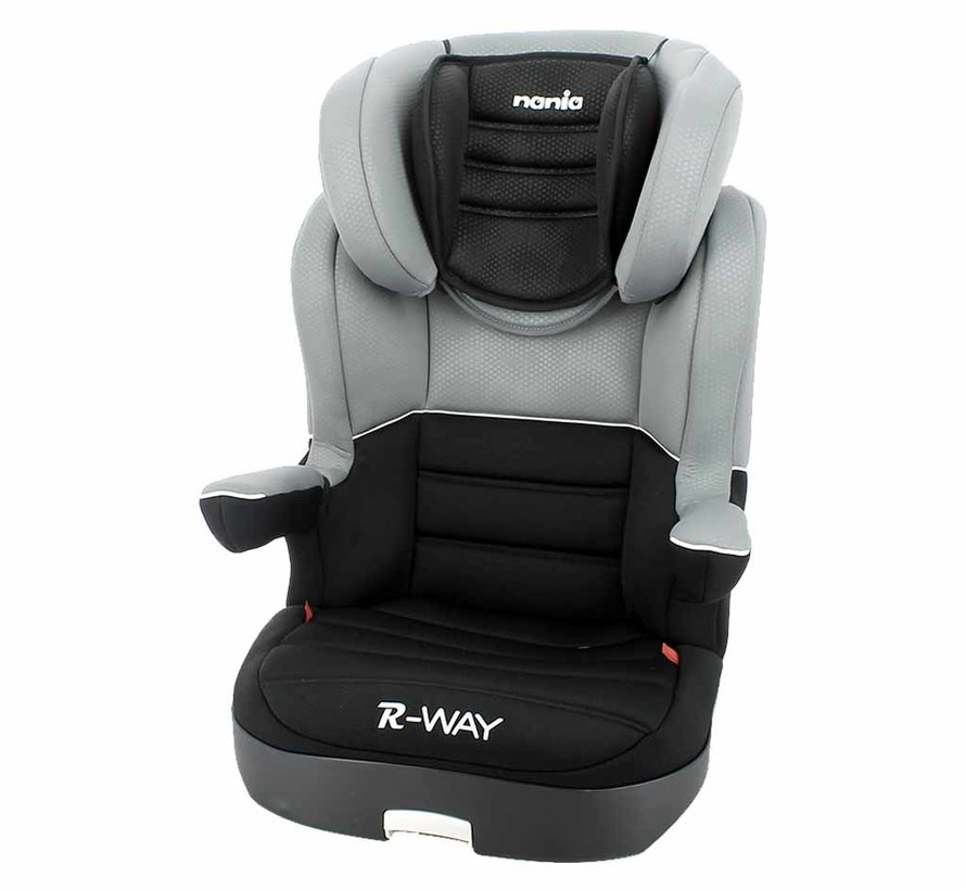 Car seat R-Way - Highbackbooster Group 2 and 3 - Black, Grey