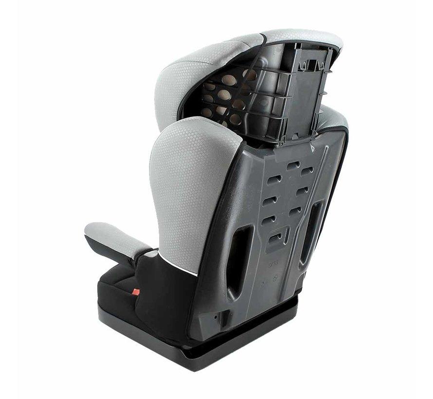 Autostoel R-Way - Kinderautostoel - Groep 2 en 3 - Zwart, Grijs