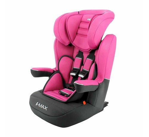 Nania ISOFIX Kinderautositz I-Max Luxe Pink - Gruppe 1/2/3 (9-36 KG)