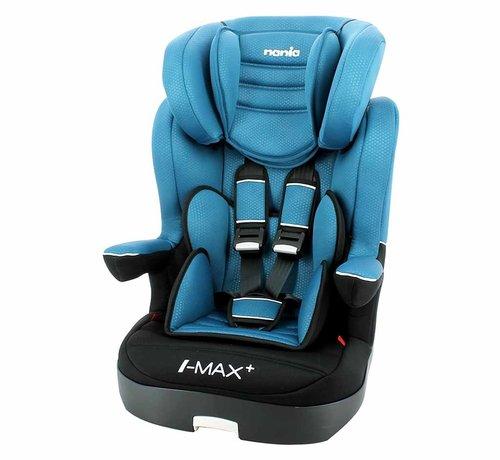 Nania autostoel i-Max - Meegroei Autostoel Groep 1/2/3 - Luxe Blauw