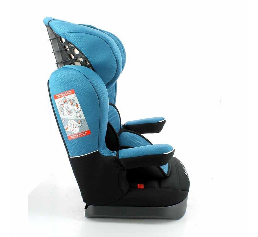 Kinderautositz i-Max Luxe Blau - Gruppe 1/2/3 (9-36 KG)