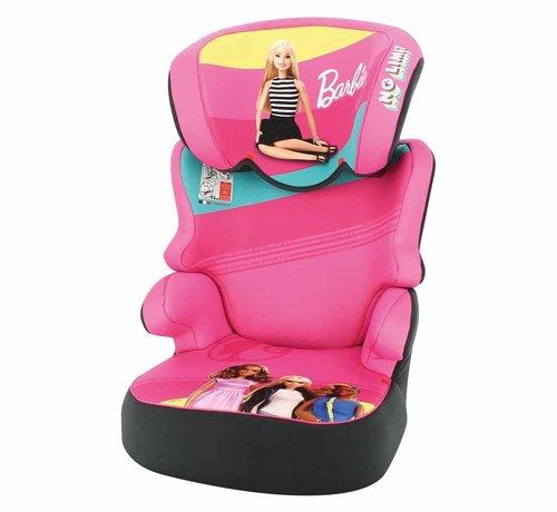Mattel autostoel Befix - Kinderautostoel groep 2 en 3 - Barbie