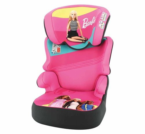Mattel Car seat Befix - Highbackbooster Group 2 and 3 - Barbie