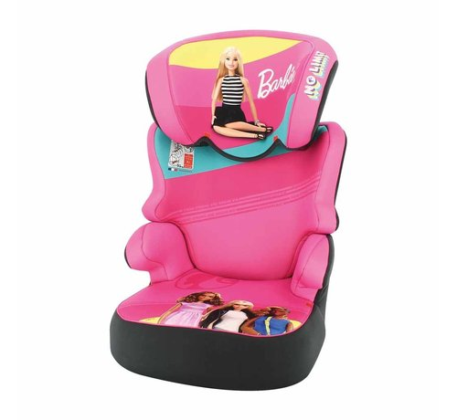 Mattel Car seat Befix - Highbackbooster Group 2 and 3 - Barbie