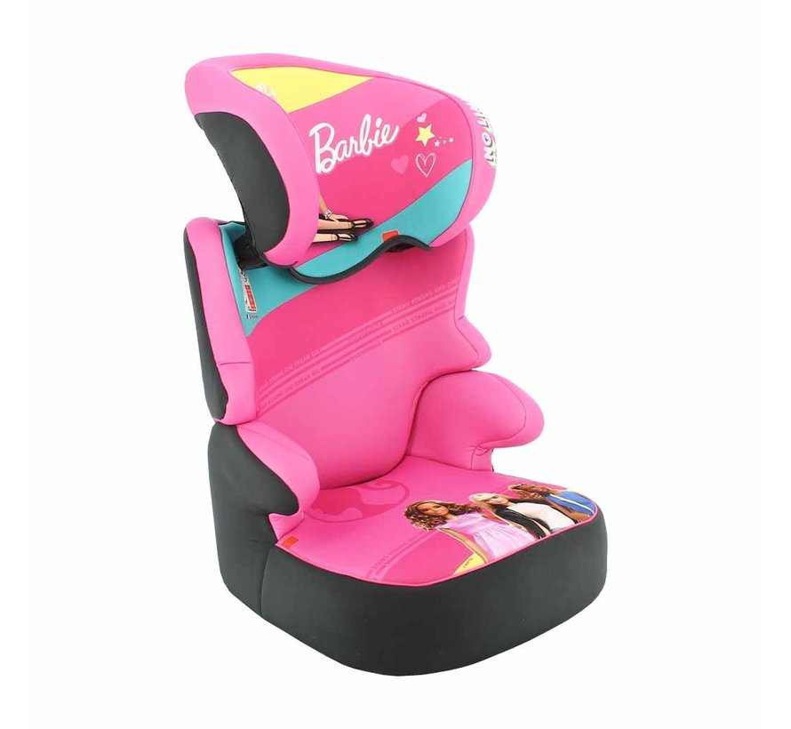 Car seat Befix - Highbackbooster Group 2 and 3 - Barbie