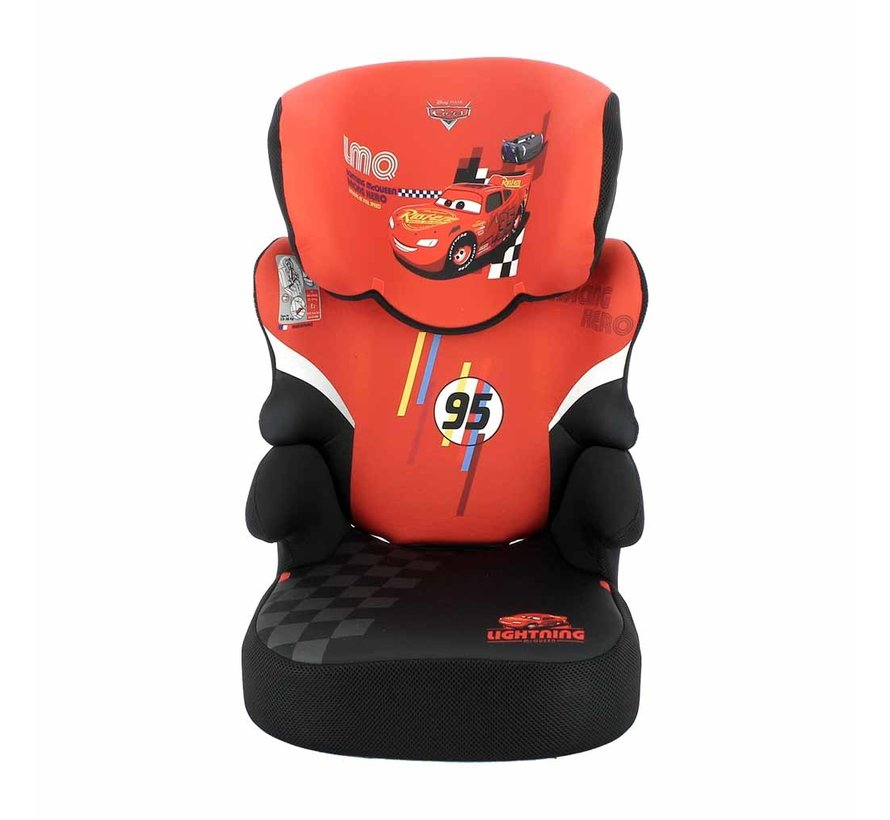 Autositze Befix - Kindersitze Gruppe 2 und 3 - Cars