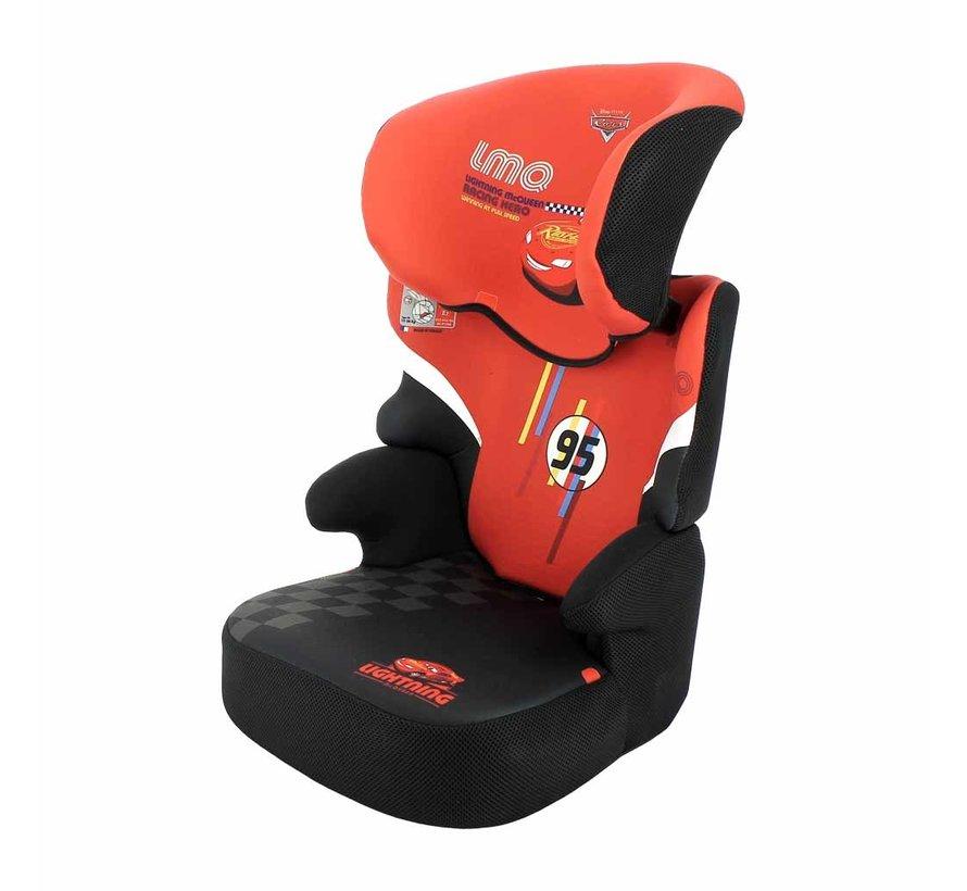 autostoel Befix - Kinderautostoel groep 2 en 3 - Cars