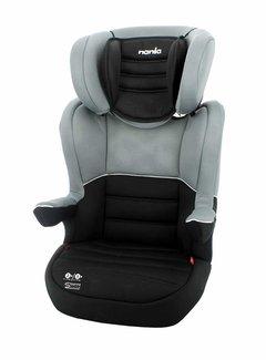 Nania Isofix autostoel R-Way - Groep 2 en 3 - Zwart, Grijs
