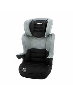 Nania Isofix autositze R-Way - Kindersitze Gruppe 2 und 3 - schwarz, grau