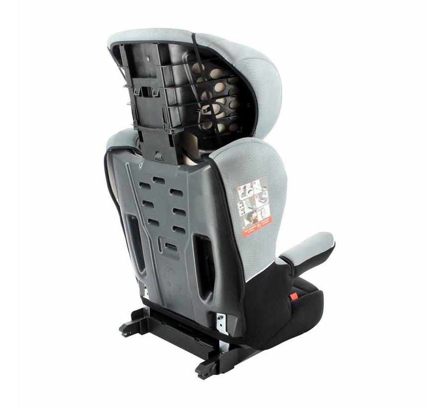 Isofix autostoel R-Way - Groep 2 en 3 - Zwart, Grijs
