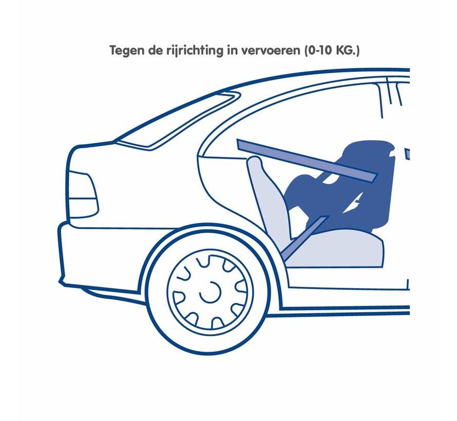 Kinderautositz Maxim ECO Shadow Grey - Gruppe 0/1 (0-18 KG)