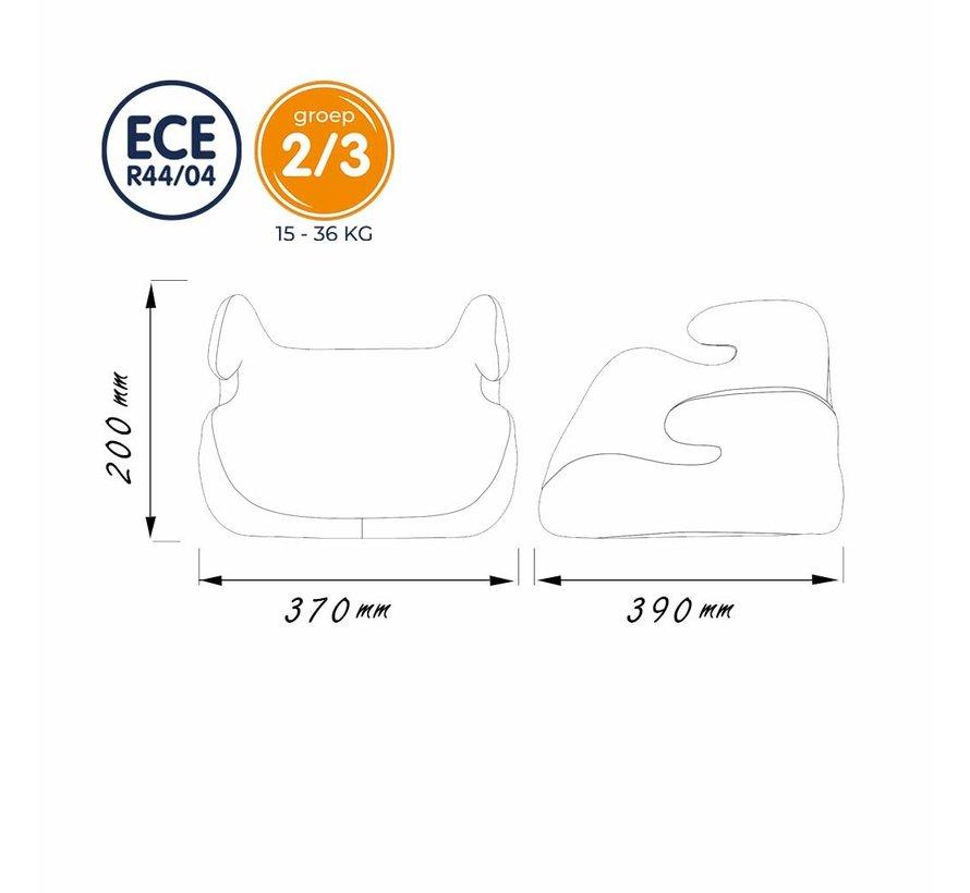 zitverhoger groep 2/3 (15-36 kg) - Topo Comfort - Cars