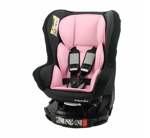 Nania Revo 360° - drehbarer Autositz Gruppe 0/1/2 - Acces Pink