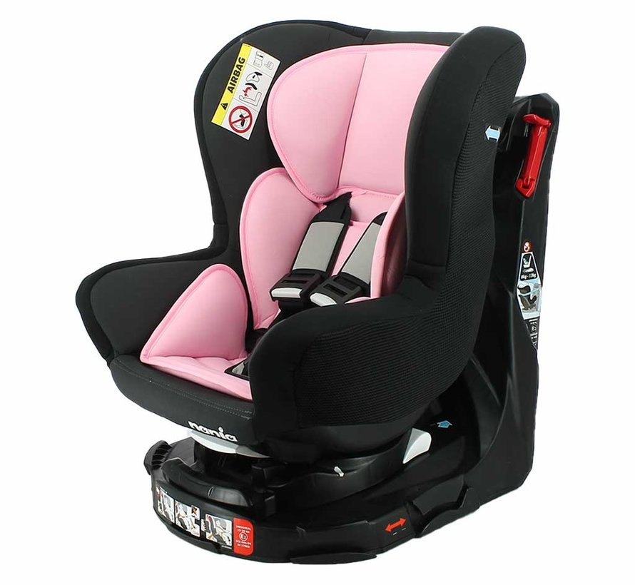 Revo 360° - Rotating car seat group 0/1/2 - Acces Pink