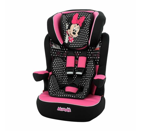 Disney Highback Booster iMax - 9 to 36 kg - group 1 2 3 - Minnie Mouse
