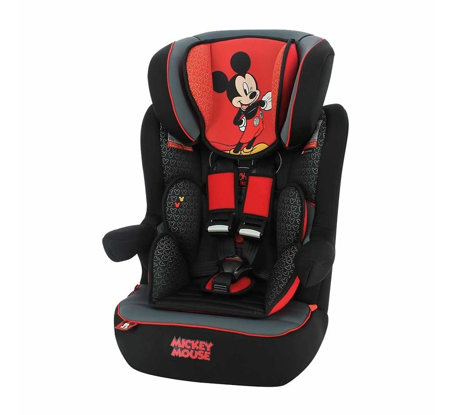 Autostoel iMax - 9 tot 36 kg - Groep 1 2 3 - Mickey Mouse