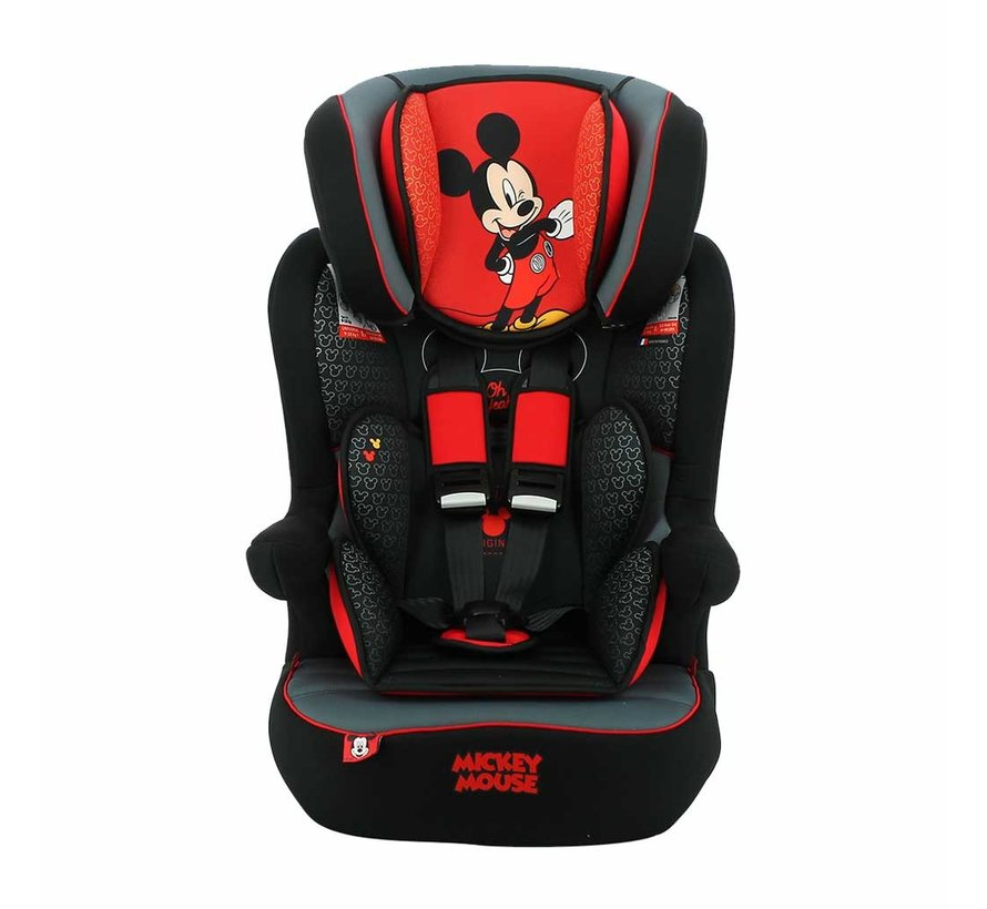 Autositz iMax - 9 bis 36 kg - Gruppe 1 2 3 - Mickey Mouse