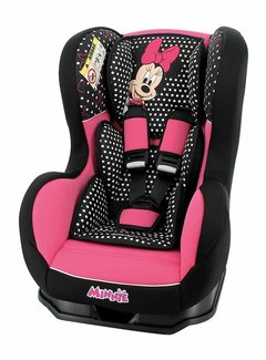 Disney Autostoel Cosmo Luxe - Groep 0 1 -  0 tot 18 kg - Minnie Mouse