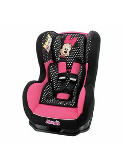 Disney Kinderautositz Cosmo SP - Gruppen 0/1 (0-18 kg) - Minnie Mouse