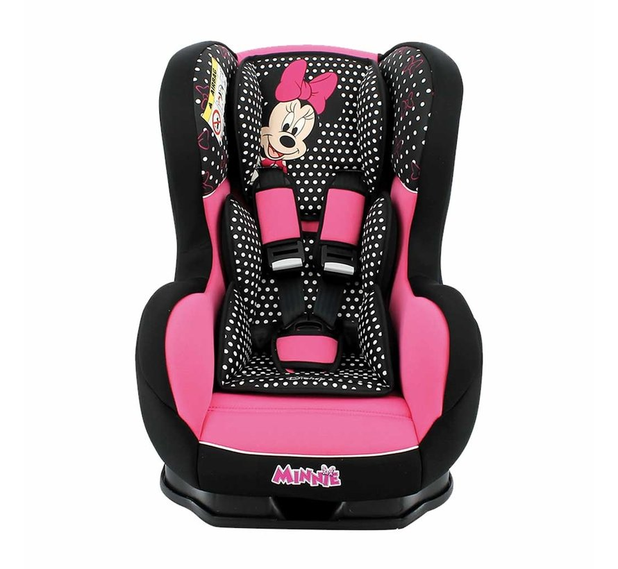 Autostoel Cosmo Luxe - Groep 0 1 -  0 tot 18 kg - Minnie Mouse