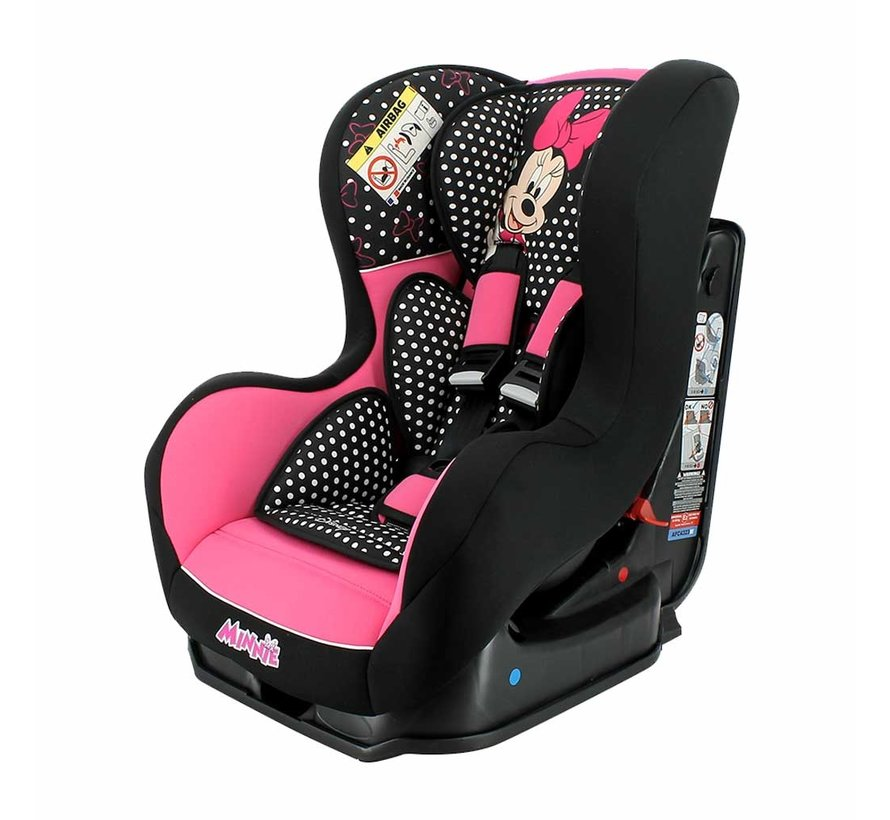 Kinderautositz Cosmo SP Luxe - Gruppe 0 1 - 0 bis 18 kg  - Minnie Mouse