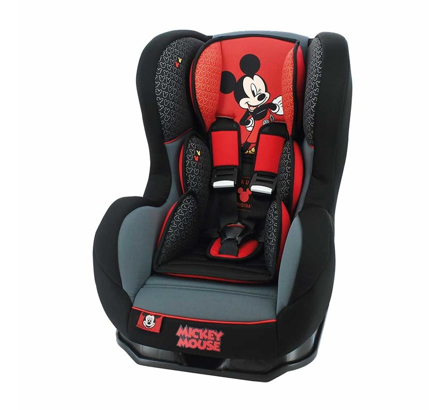 Autostoel Cosmo Luxe - Groep 0 1 -  0 tot 18 kg - Mickey Mouse