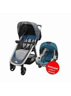 Nania Stroller Metro - 2 in 1 - including car seat group 0+