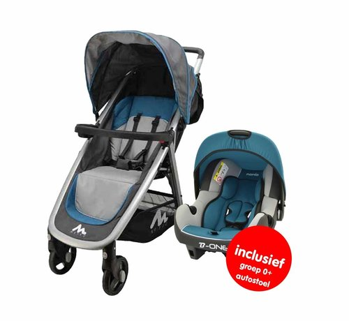 Nania Stroller Metro - 2 in 1 - including car seat group 0+ - Blue