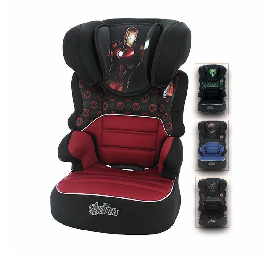 Autositze Befix - Kindersitze Gruppe 2 und 3 - Verschiedene Designs
