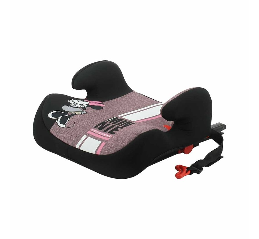 Isofix zitverhoger - TOPO easyfix - Groep 3 - Minnie Mouse
