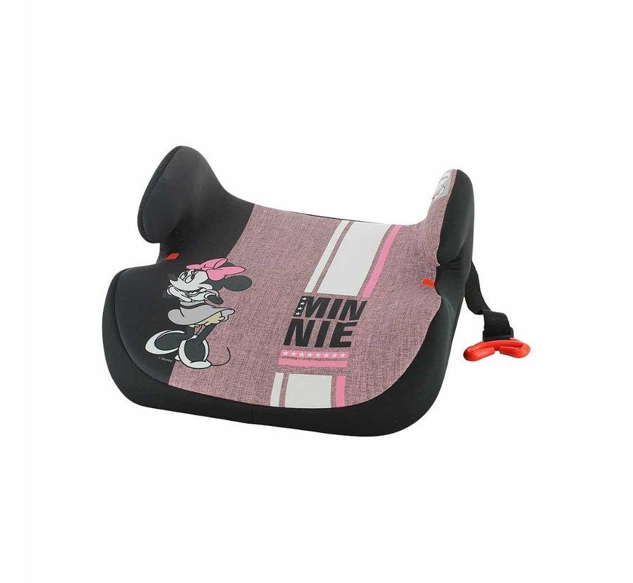 Isofix Sitzerhöhung - TOPO easyfix - Gruppe 3 - Minnie Mouse