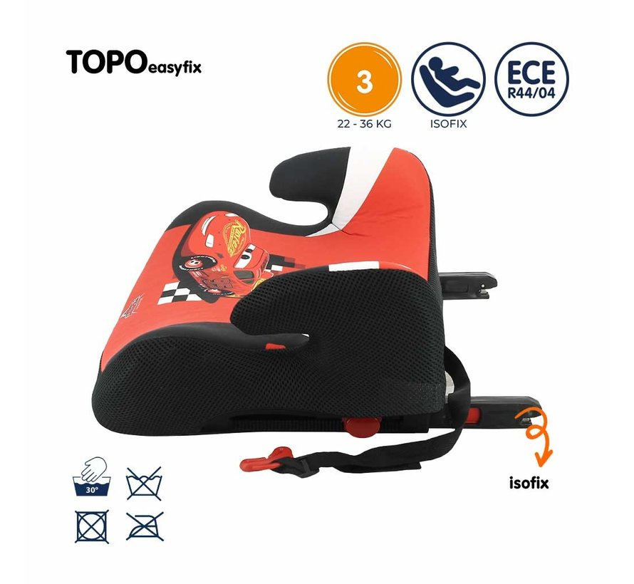 Isofix booster - TOPO easyfix - Group 3 - Cars
