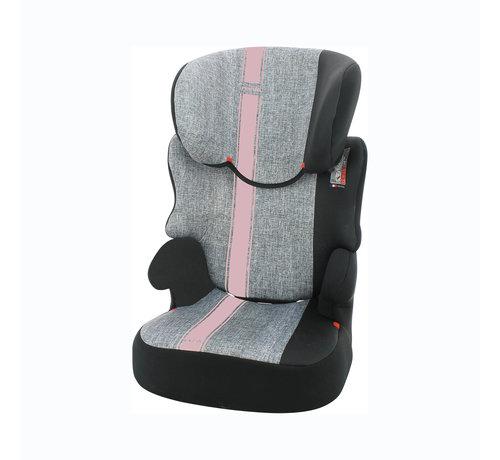 Nania autostoel Befix - Kinderautostoel - groep 2 en 3 - Grijs